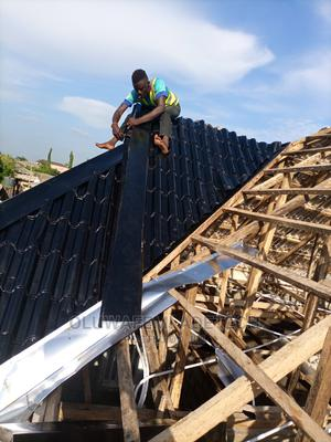 Aluminum Roofing Sheets 0 . 5 5   Building Materials for sale in Lagos State, Ibeju