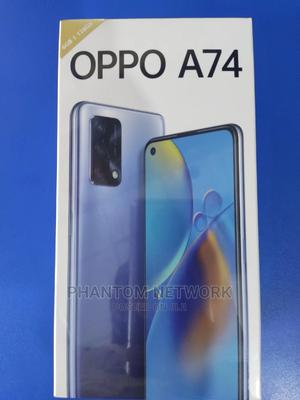 New Oppo A74 128 GB Blue | Mobile Phones for sale in Abuja (FCT) State, Wuse 2