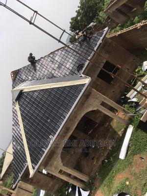 Aluminum Step Tiles Roofing Sheets 0 . 5 5   Building Materials for sale in Ogun State, Remo North