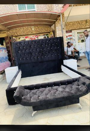 6by6 Upholstery Bed Frame | Furniture for sale in Lagos State, Ikeja