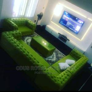 Green Chesterfield Sofa | Furniture for sale in Lagos State, Lekki