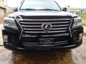 Lexus LX 2013 570 Base Black | Cars for sale in Lagos State, Ikeja