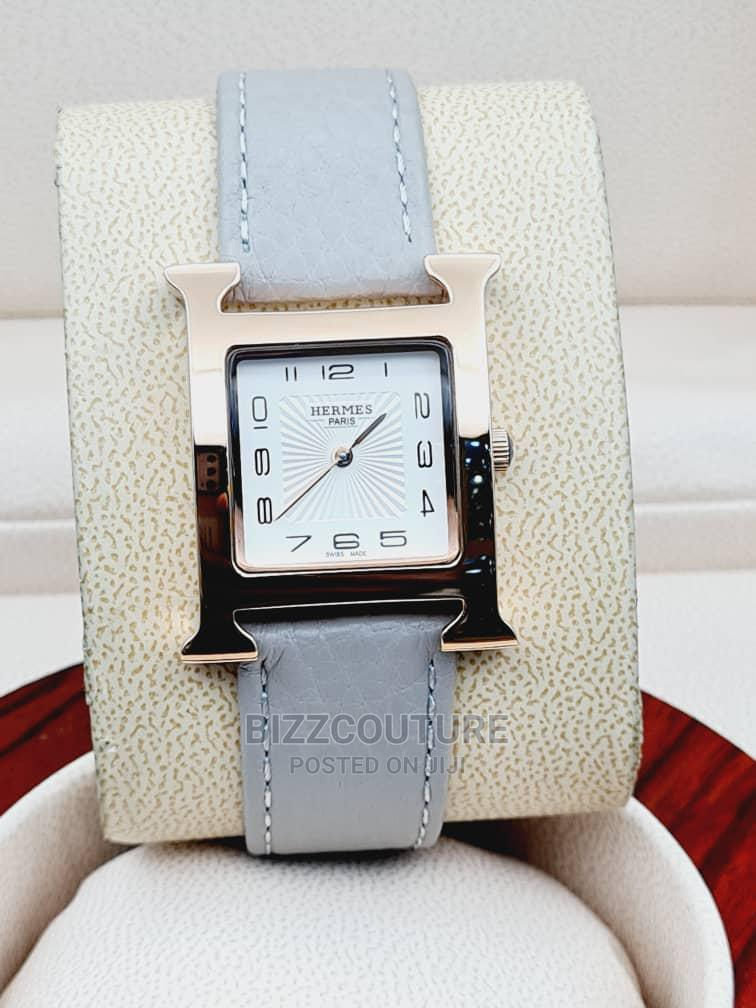 High Quality HERMES Leather Watch for Men | Watches for sale in Magodo, Lagos State, Nigeria