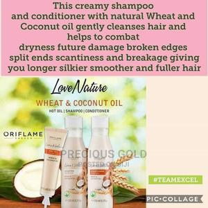 Shampooe, Conditioner,Hot Hair Oil and Love Nature Oil. | Hair Beauty for sale in Osun State, Osogbo