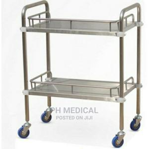 Stainless Steel Instrument Trolley   Medical Supplies & Equipment for sale in Lagos State, Ikoyi