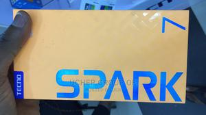 New Tecno Spark 7 64 GB Black   Mobile Phones for sale in Rivers State, Port-Harcourt