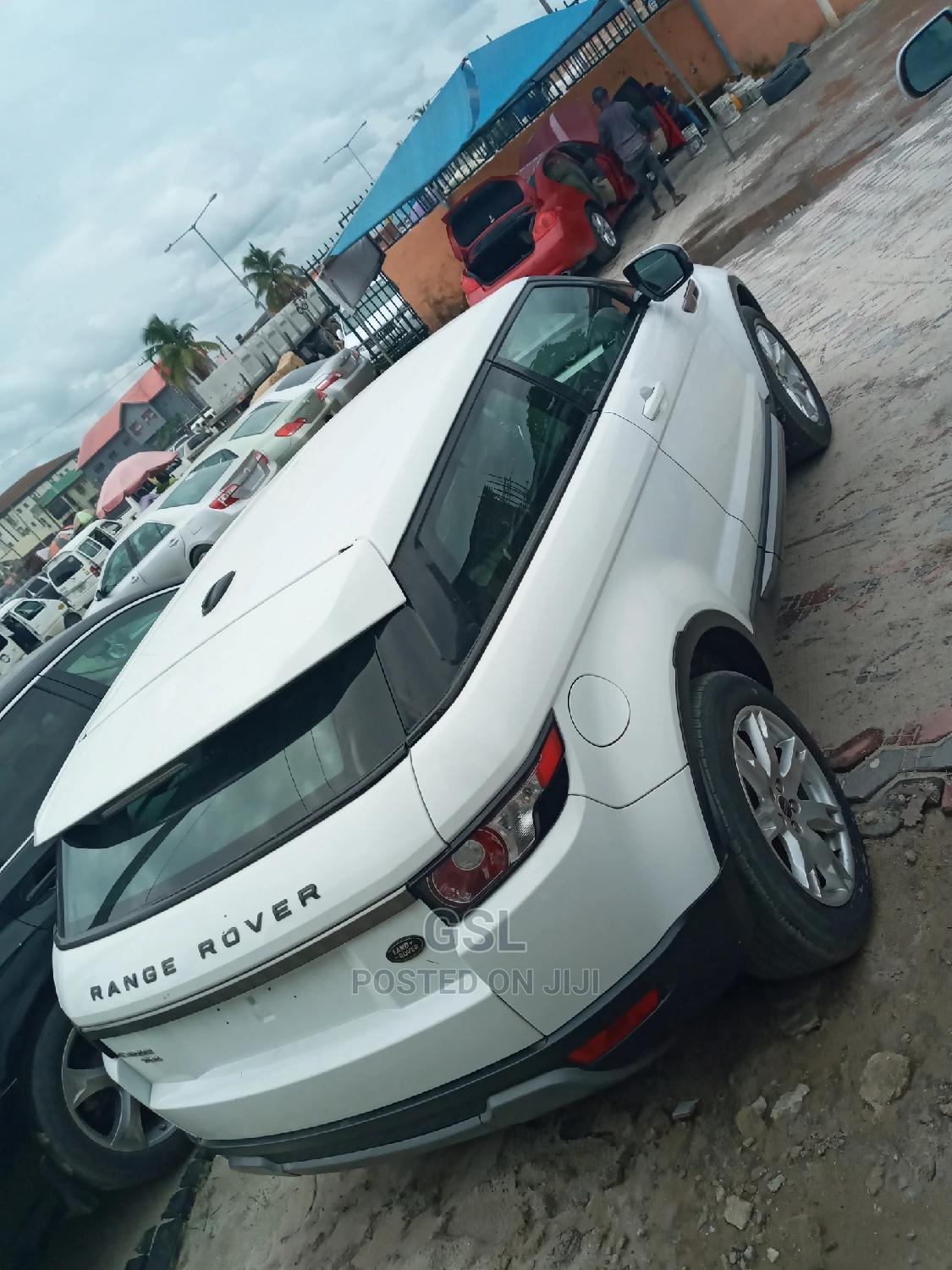 Land Rover Range Rover Evoque 2013 White   Cars for sale in Ajah, Lagos State, Nigeria