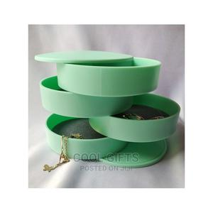 4 Layer Rotating Jewelery Box   Jewelry for sale in Lagos State, Isolo