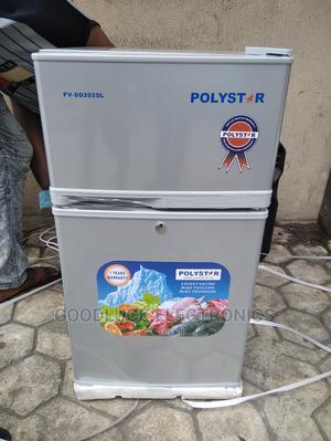Polystar Double Door Refrigerator Pv-Dd202 | Kitchen Appliances for sale in Lagos State, Ikeja