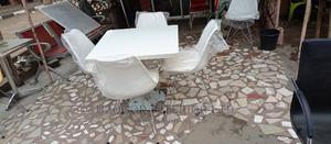 Unique Portable Restaurant Set of Table and Fiber Chair   Furniture for sale in Rivers State, Port-Harcourt