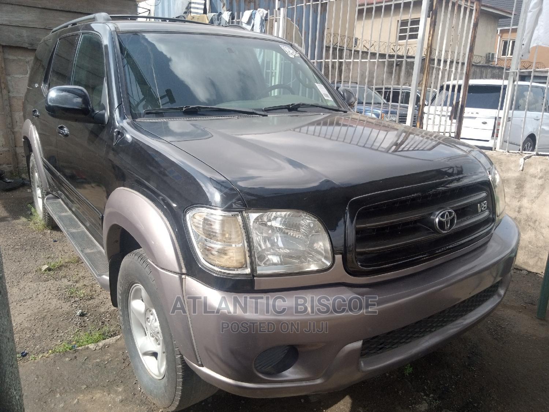 Toyota Sequoia 2001 Black | Cars for sale in Ojodu, Lagos State, Nigeria