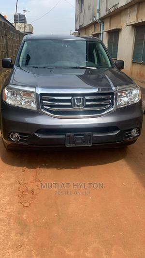 Honda Pilot 2015 Gray   Cars for sale in Lagos State, Abule Egba
