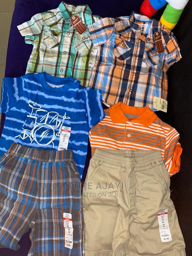 Boys Shirt and Shorts