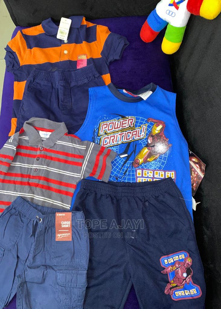 Boys Shirt and Shorts | Children's Clothing for sale in Ikeja, Lagos State, Nigeria