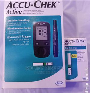 Accu-chek Blood Sugar Monitor– With Additional 50 Strip   Medical Supplies & Equipment for sale in Lagos State, Amuwo-Odofin