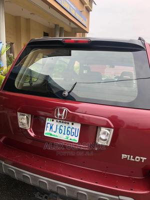 Honda Pilot 2005 EX 4x4 (3.5L 6cyl 5A) Red | Cars for sale in Lagos State, Ikeja