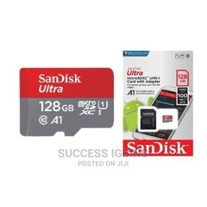 Sandisk 128GB Memory Card   Accessories for Mobile Phones & Tablets for sale in Lagos State, Agege