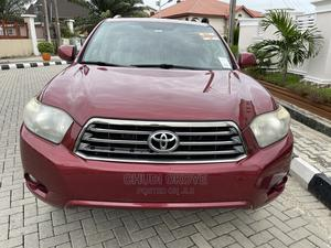 Toyota Highlander 2009 Sport 4x4 Red | Cars for sale in Lagos State, Amuwo-Odofin