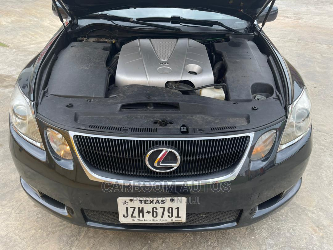 Lexus GS 2007 350 Black | Cars for sale in Ogba, Lagos State, Nigeria