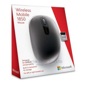 Microsoft Wireless Mobile Mouse 1850 – Nano USB – Black | Computer Accessories  for sale in Lagos State, Ikeja