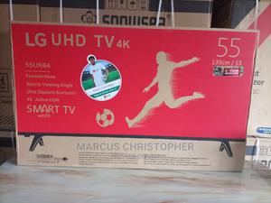 LG Uhd Smart 55 Inches TV Available at a Give Away Price   TV & DVD Equipment for sale in Bayelsa State, Yenagoa