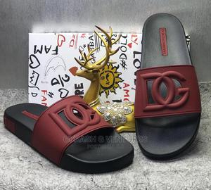 Dolce Gabbana (D G) Slippers for Men's | Shoes for sale in Lagos State, Lagos Island (Eko)