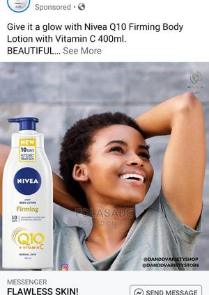 NIVEA Q10 Vitamin C Firming Body Lotion 400ml (UK) | Skin Care for sale in Lagos State, Abule Egba