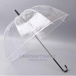Transparent Clear Umbrella for Souvenir   Clothing Accessories for sale in Lagos State, Lagos Island (Eko)