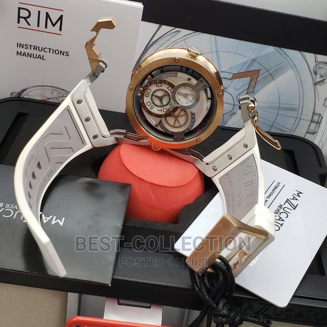 Archive: Original Rim Mazucato Swiss Wrist Watch