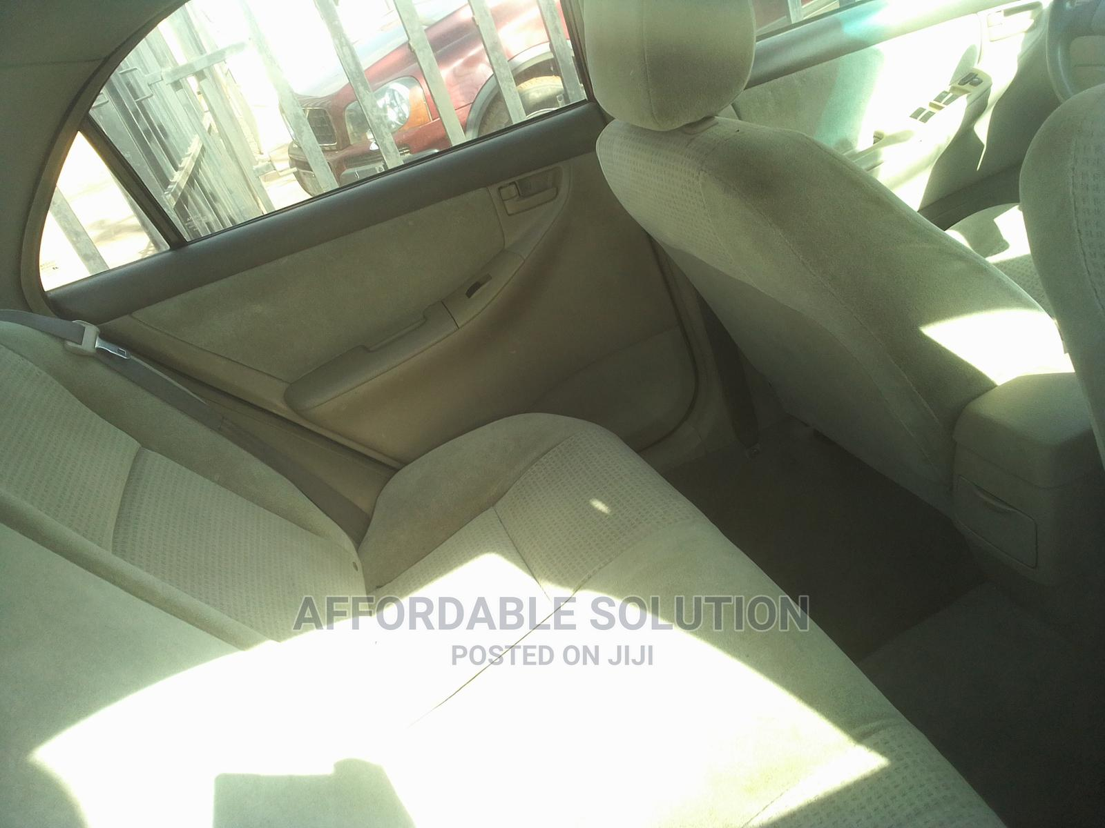 Toyota Corolla 2007 Red   Cars for sale in Abule Egba, Lagos State, Nigeria