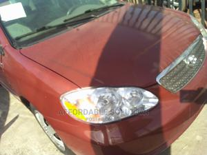Toyota Corolla 2007 Red | Cars for sale in Lagos State, Abule Egba