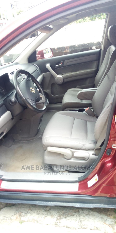 Honda CR-V 2007 Red   Cars for sale in Ifako-Ijaiye, Lagos State, Nigeria