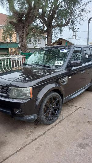 Land Rover Range Rover Sport 2010 HSE 4x4 (5.0L 8cyl 6A) Black | Cars for sale in Lagos State, Ikeja