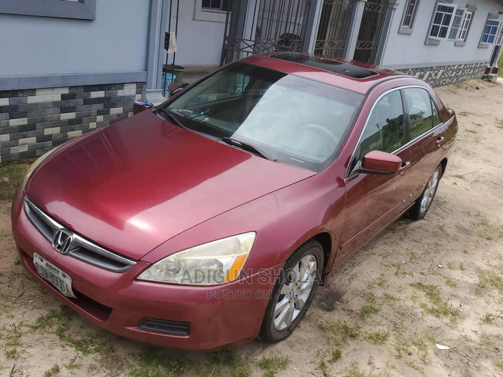 Archive: Honda Accord 2007 Coupe EX-L V-6 Automatic Red