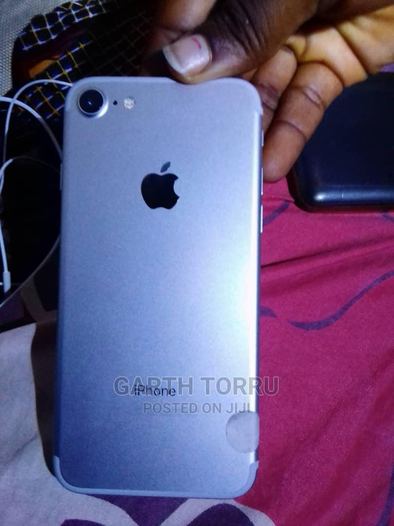Apple iPhone 7 128 GB Silver   Mobile Phones for sale in Port-Harcourt, Rivers State, Nigeria