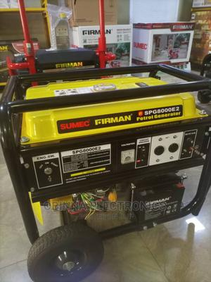 Brand New Sumec Fireman (Sp8000e2)3.5kva,Key Starter, Yellow | Electrical Equipment for sale in Lagos State, Ojo