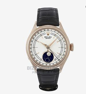 High Quality Rolex Cellini Moonphase Leather Strap Grade AAA | Watches for sale in Lagos State, Magodo