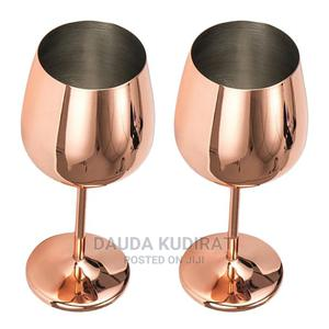 Stainless Steel Wine Glasses   Kitchen & Dining for sale in Lagos State, Lagos Island (Eko)