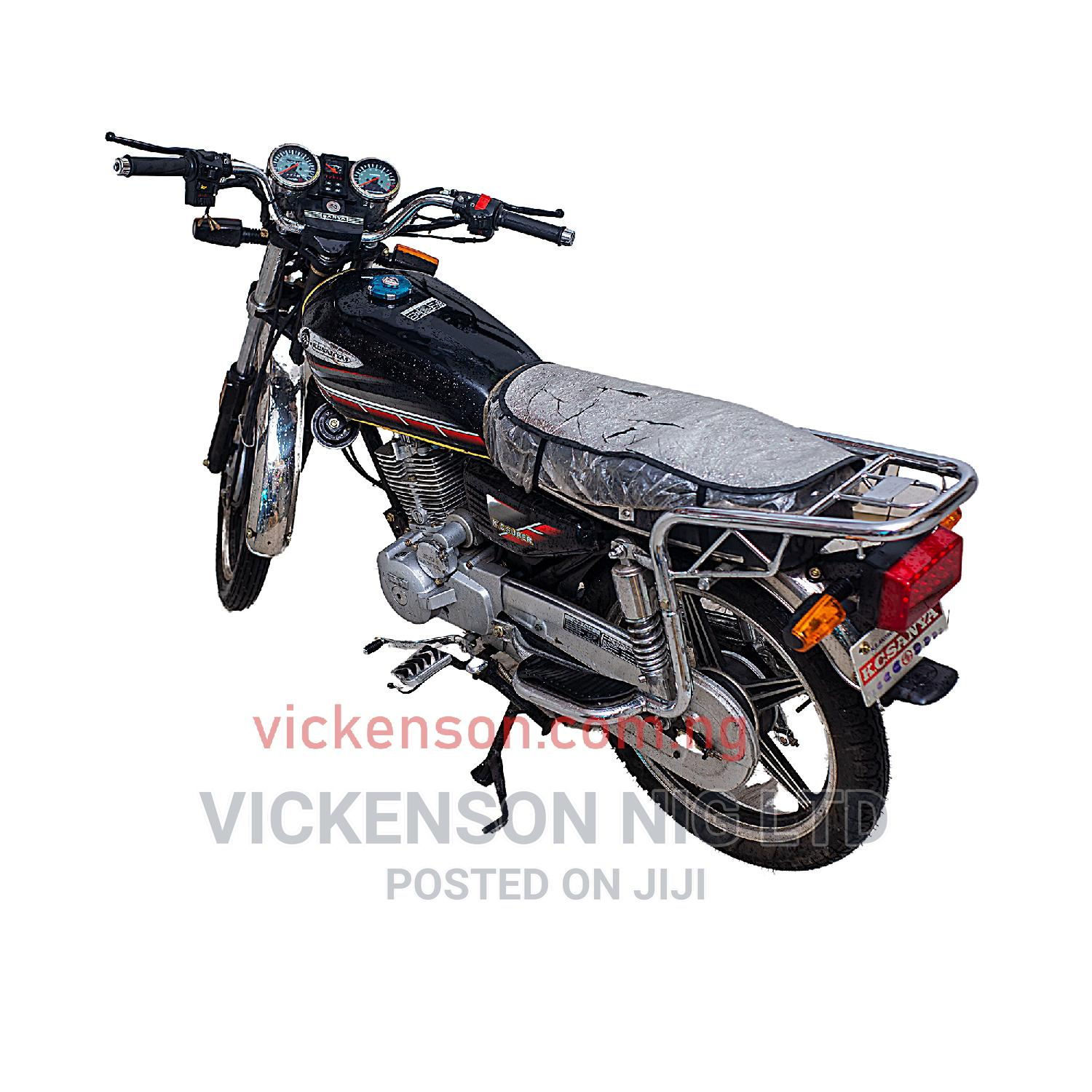 New Sanya SY150F 2020 Black | Motorcycles & Scooters for sale in Benin City, Edo State, Nigeria