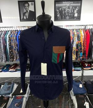 High Quality GUCCI Black Shirts for Men   Clothing for sale in Lagos State, Magodo