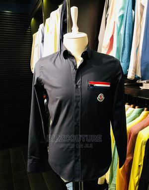 High Quality MONCLER Black Shirts for Men | Clothing for sale in Lagos State, Magodo