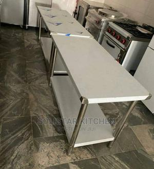 5 Ft Stainless Working Table   Restaurant & Catering Equipment for sale in Lagos State, Ojo