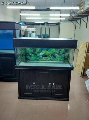 Wooden Stand Aquarium | Fish for sale in Lagos State, Surulere