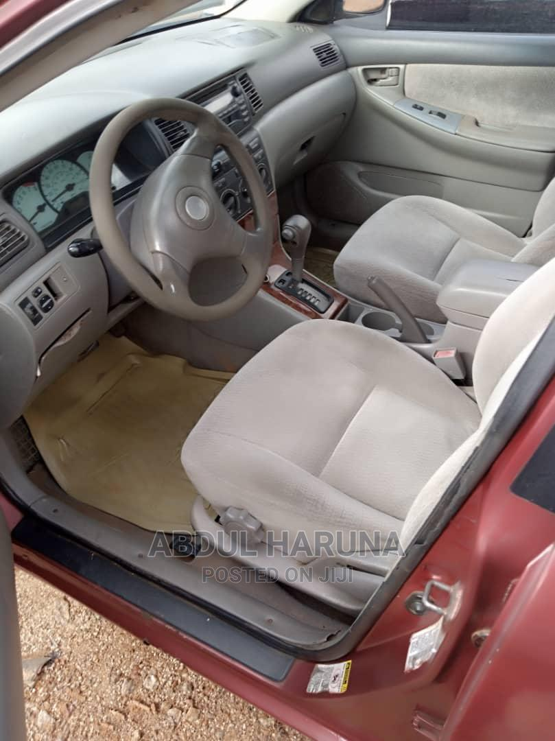 Archive: Toyota Corolla 2005 1.4 D-4d Automatic Red