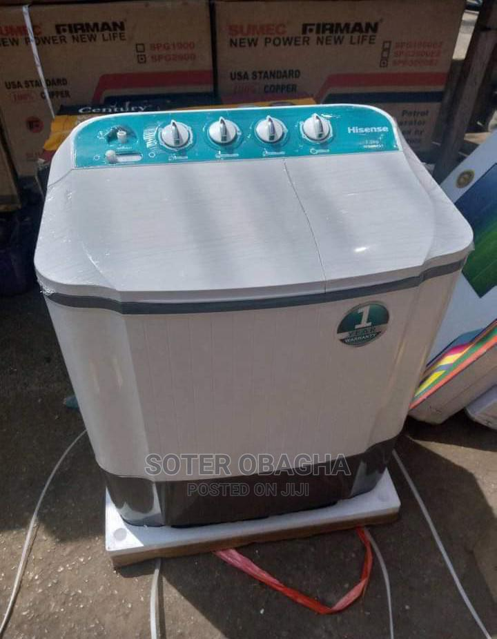 Hisense 7kg Washing Machine | Home Appliances for sale in Ojo, Lagos State, Nigeria