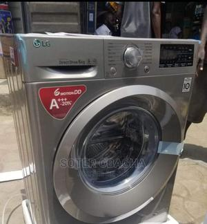 LG Front Load Washing Machine 8kg   Home Appliances for sale in Lagos State, Ojo