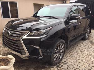 Lexus LX 2018 570 Three-Row Black | Cars for sale in Lagos State, Ajah