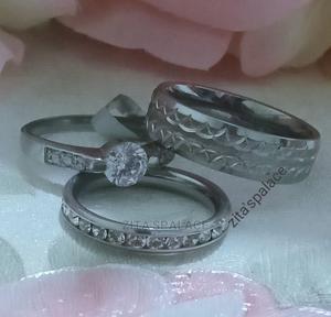 Titanium Wedding Ring Set   Wedding Wear & Accessories for sale in Lagos State, Alimosho