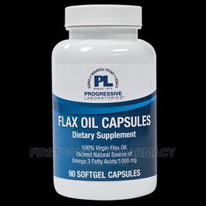 Progressive Laboratories Flax Oil X 90   Vitamins & Supplements for sale in Lagos State, Surulere