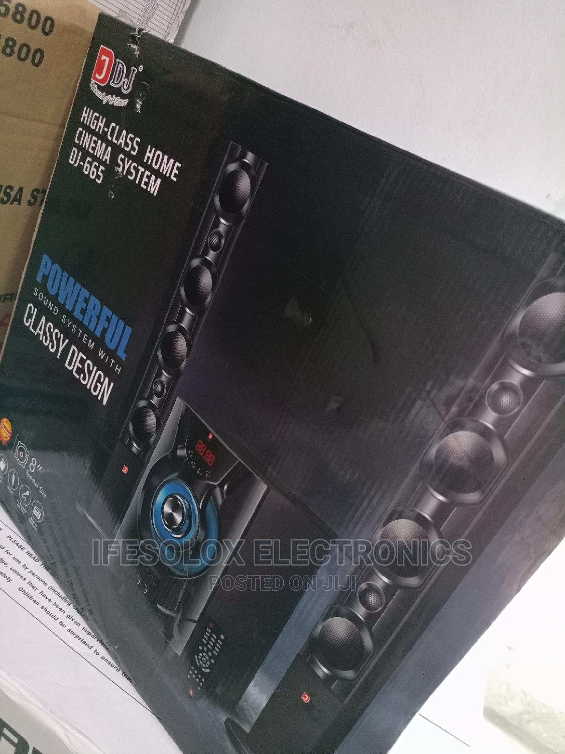 DJ 2.1 Standing Boss Bluetooth Home Theater | Audio & Music Equipment for sale in Ojo, Lagos State, Nigeria